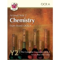 New A-Level Chemistry for OCR A: Year 2 Student Book with Online Edition by CGP Books (Paperback, 2015)