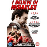 Brian Clough: I Believe in Miracles DVD