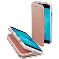 Hama Curve Booklet for Samsung Galaxy J5 (2017), rose gold