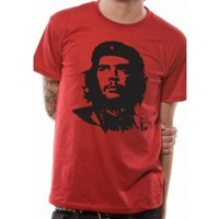 Che Guevara Red Face T-Shirt X-Large