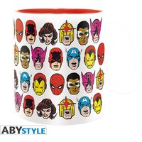 Marvel - Marvel Heads Mug