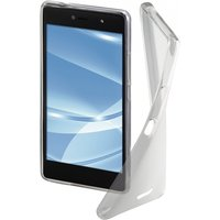 Hama Crystal Cover for Wiko U Feel Lite, transparent