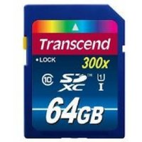Transcend UHS-I 300x Premium (64GB) Secure Digital Extended-Capacity Flash Card (Class 10)