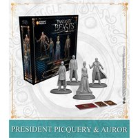 Harry Potter Miniatures Adventure Game President Picquery & Aurors Expansion