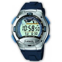 Casio W753-2AV Digital Casual Tide Graph Sports Watch