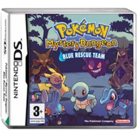 Pokemon Mystery Dungeon Blue Rescue Team Game