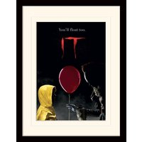 IT - Pennywise & Georgie Mounted & Framed 30 x 40cm Print