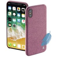 Hama Cozy Cover for Apple iPhone X, pink