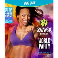 Zumba Fitness World Party Bundle Pack With Belt Game Wii U