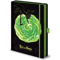 Rick and Morty - Portals Notebook