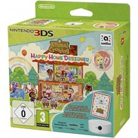 Animal Crossing Happy Home Designer 3DS Game (with Amiibo Card + NFC Reader/Writer)