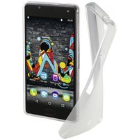 Hama Crystal Cover for Wiko U Feel, transparent