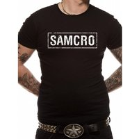Sons Of Anarchy - Samcro Banner Unisex T-shirt Black Large
