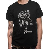 X-Men - Wolverine Tonal Men's Large T-Shirt - Black
