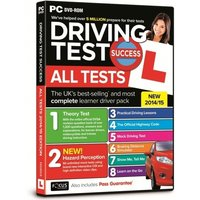 Ex-Display Driving Test Success All Tests 2014/15 Edition PC Software