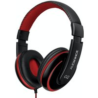 Audiance A2 Headphones - Black-Red