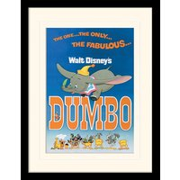 Dumbo - The Fabulous Mounted & Framed 30 x 40cm Print