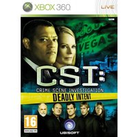 CSI Crime Scene Investigation Deadly Intent Game