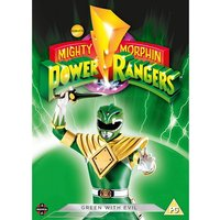 Power Rangers: Green With Evil DVD
