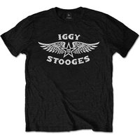Iggy & The Stooges - Wings Men's XX-Large T-Shirt - Black