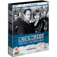 Law & Order: Special Victims Unit - Season 5 - Complete DVD