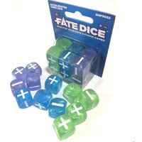 Fate Dice: Accelerated Core (12 Dice)