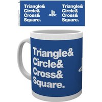 Playstation - Circle Square Cross Triangle Mug