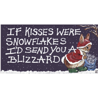 If Kisses Were Snowflakes Pack Of 12