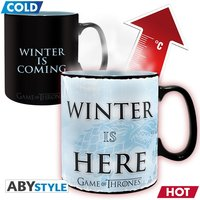 Game Of Thrones - Winter Is Here Heat Change Mug