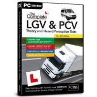 Focus Multimedia The Complete LGV and PCV Theory and Hazard Perception Test 2016 Edition for PC (DVD-ROM)