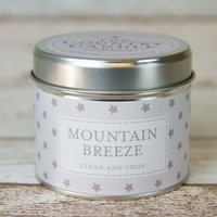 Mountain Breeze (Superstars Collection) Tin Candle