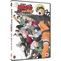 Naruto Shippuden The Movie 3 The Will Of Fire DVD