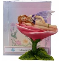 Flower Bed Lilac Fairy Statue