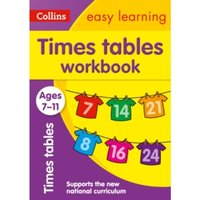 Times Tables Workbook Ages 7-11: New Edition