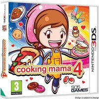 Cooking Mama 4 Game 3DS