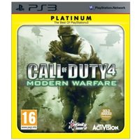 Call Of Duty 4 Modern Warfare Game (Platinum)