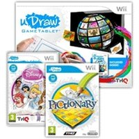 uDraw tablet Wii with Instant Artist, Disney Princess Enchanting Storybooks and Pictionary Game