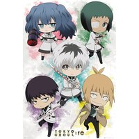 Tokyo Ghoul RE - Chibi Characters Maxi Poster