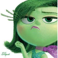 Inside Out - Disgust Canvas