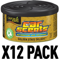 Golden State Delight (Pack Of 12) California Car Scents