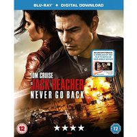 Jack Reacher: Never Go Back Blu-ray Digital Download