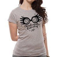 Harry Potter - Exceptionally Ordinary Women's Small T-shirt - Grey