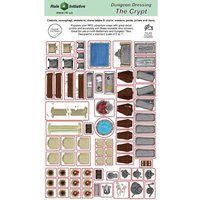 Dungeon Dressing: Dry Erase Vinyl Stickers - The Crypts
