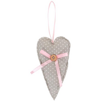 Large Heart Decoration Pack Of 6