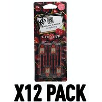 Cherry (Pack Of 12) English Candle Vent Stick