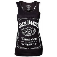 Jack Daniels Woman's Old No.7 Brand Logo X-Large Tank Top