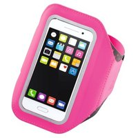 Hama Running Sports Arm Band for Smartphones, Size XXL, pink