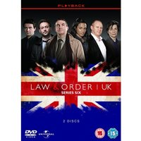 Law & Order: UK - Series 6 DVD