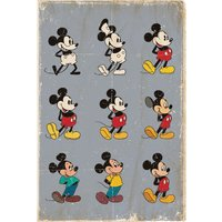 Mickey Mouse - Evolution Maxi Poster