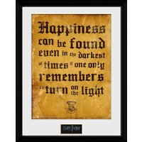 Harry Potter Happiness Can Be Collector Print